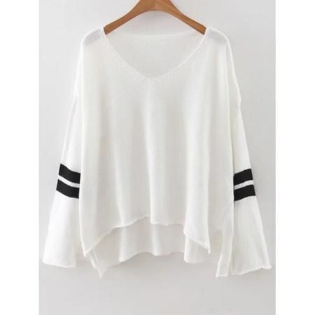 Drop Shoulder Oversized Sweater