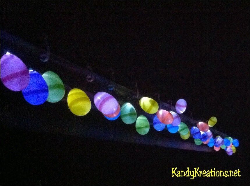 Decorate The Front Of Your House With A Set Of Christmas Lights And Old Easter Hunt