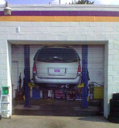 Garage door graphic specialty - Garage door vinyl wrap ...