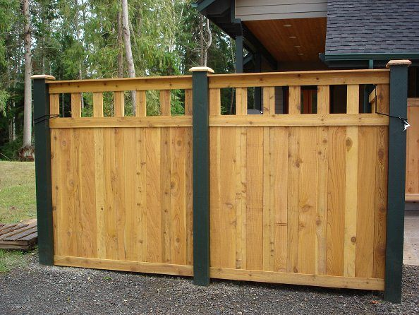 unique wood fence designs click on the pictures below to view a few examples of - Wooden Fence Designs Ideas
