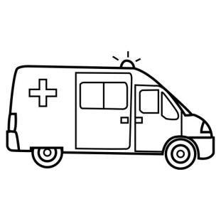 Ambulancie  vehculos  Pinterest  Colorear De transporte y
