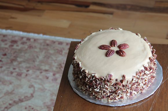 Morganza cake is Cajun country's sweetest secret--rich chocolate cake napped in a mind-blowing bourbon praline frosting and pecans