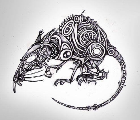 mechanical art animals | Mechanical Rat by Boswaldo on ...