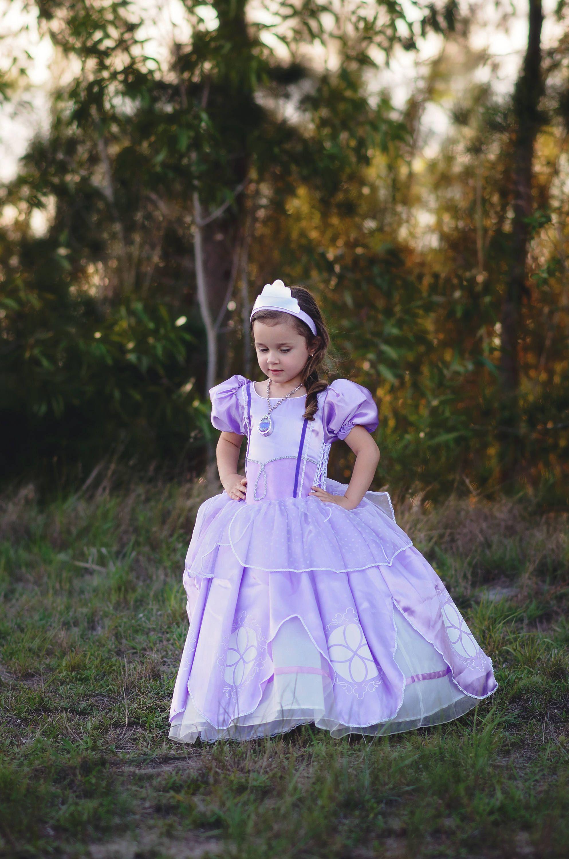 88731f1c9 Sofia Dress / Disney Princess Dress Inspired Sofia the First Costume ...