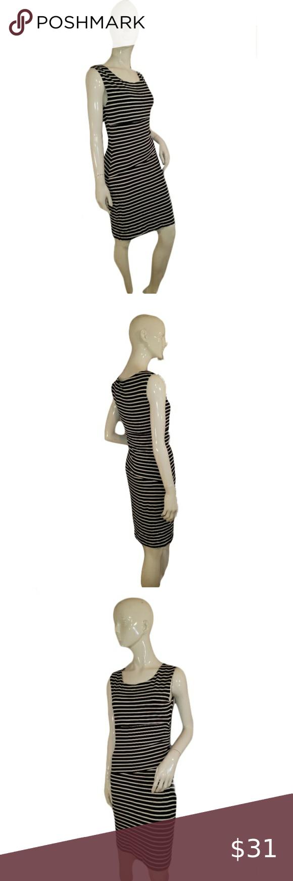 Vince Camuto Striped Dress Size S Sku 00 Striped Dress Vince Camuto Casual Stripes [ 1740 x 580 Pixel ]