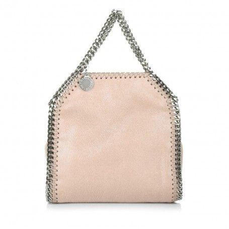 Stella Mc Cartney Tasche – Tiny Falabella Shaggy Deer Nude – in rosa – Umhängetasche für Damen
