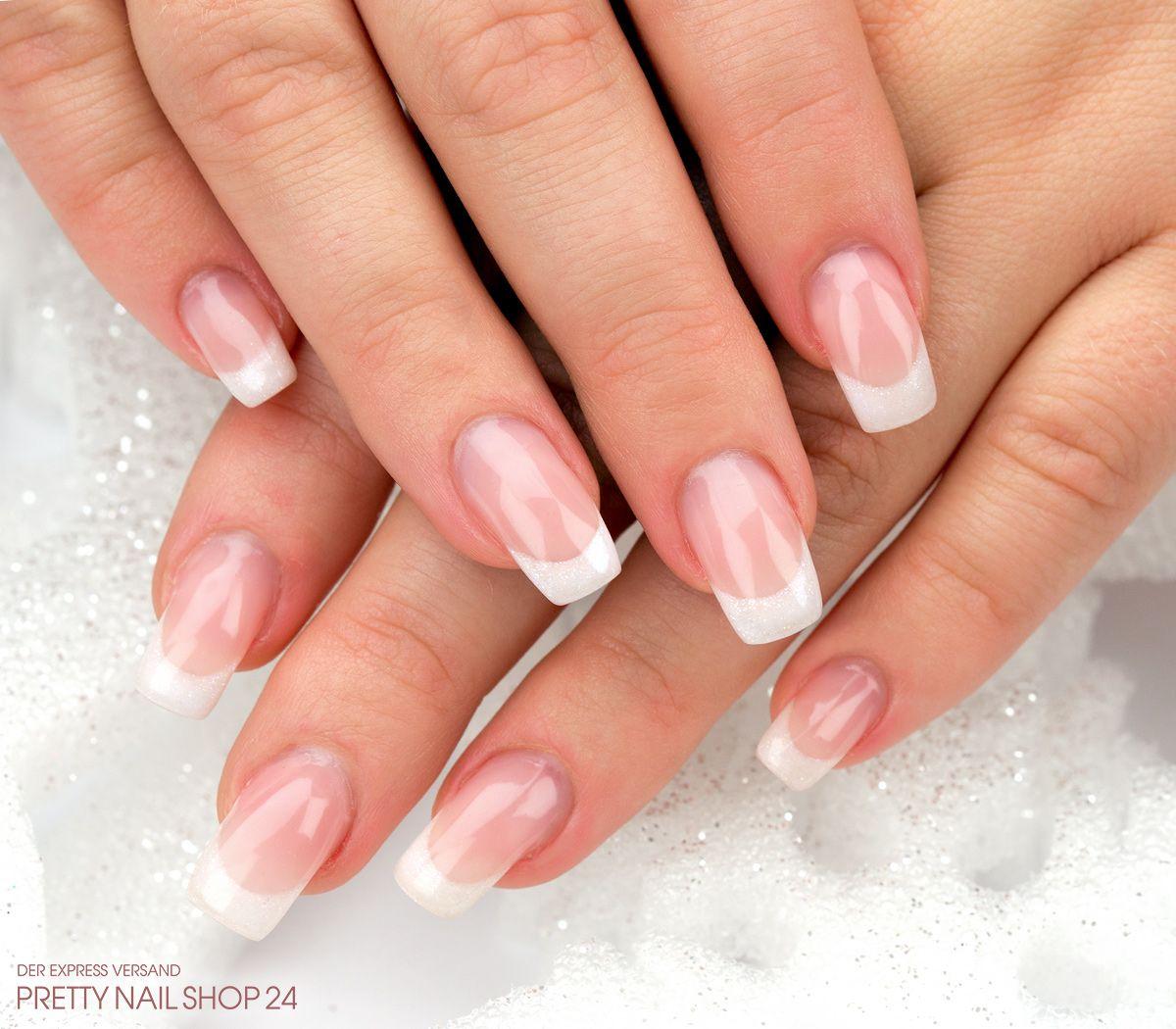 French Nails Naildesign Nailart Nach All Den Bunten