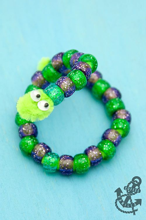 Pipe Cleaner & Bead Animals - 30 Minute Crafts #animalcrafts