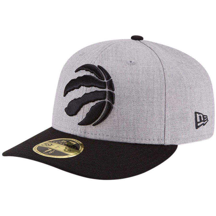super popular 5f341 25213 Men s Toronto Raptors New Era Heathered Gray Black Two-Tone Low Profile  59FIFTY Fitted Hat, Your Price   34.99
