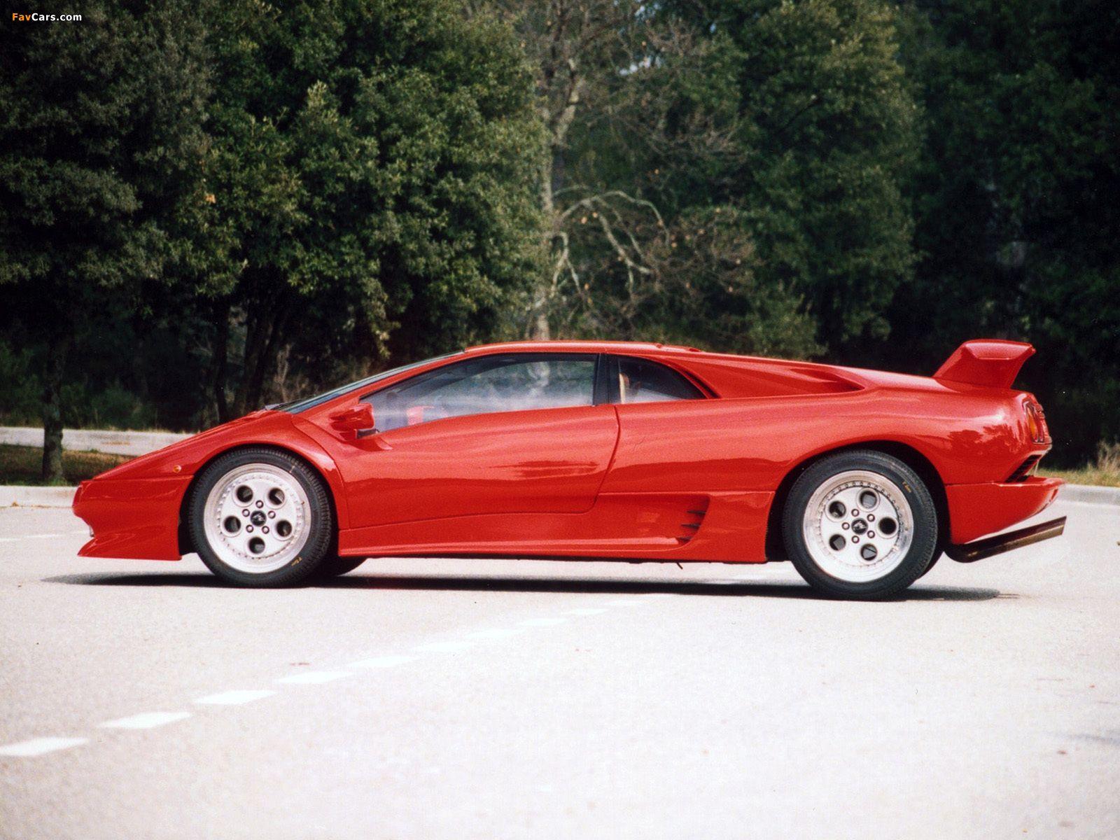 1990 Lamborghini Diablo Lamborghini Diablo Laptimes Specs