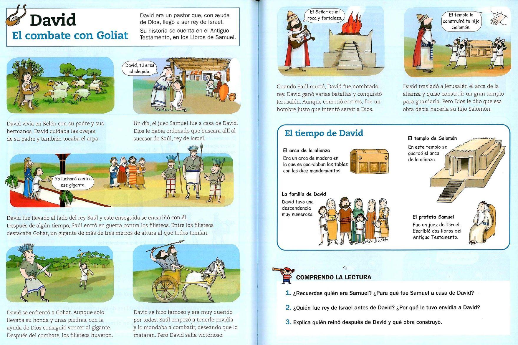 Historia de David   religion   David biblia, Historia de ...