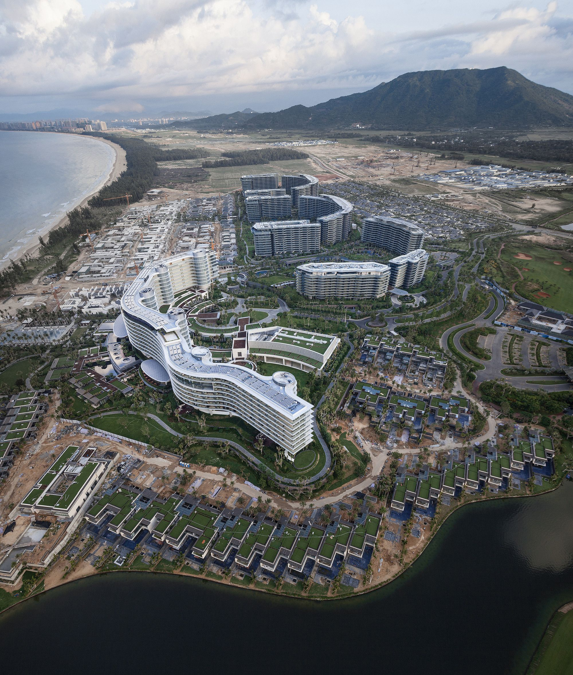 Gallery of hainan blue bay westin resort hotel gad 6 architecture urban planning and - Bay architecture ...