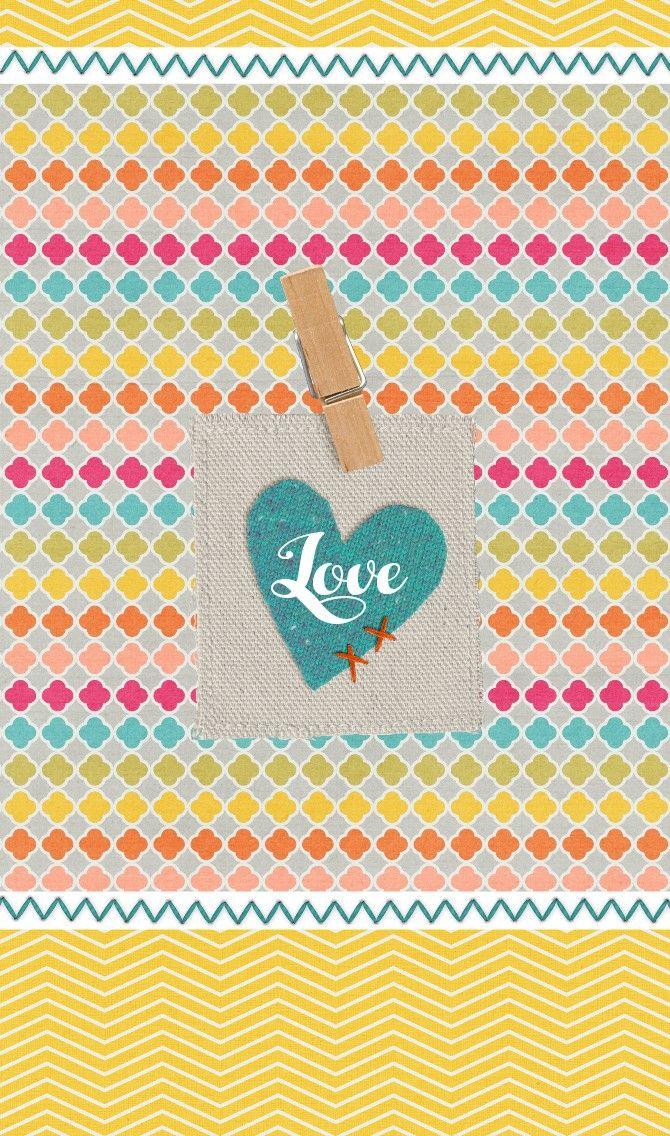 FREEBIE♡ Simple Love wallpaper collection Love wallpaper