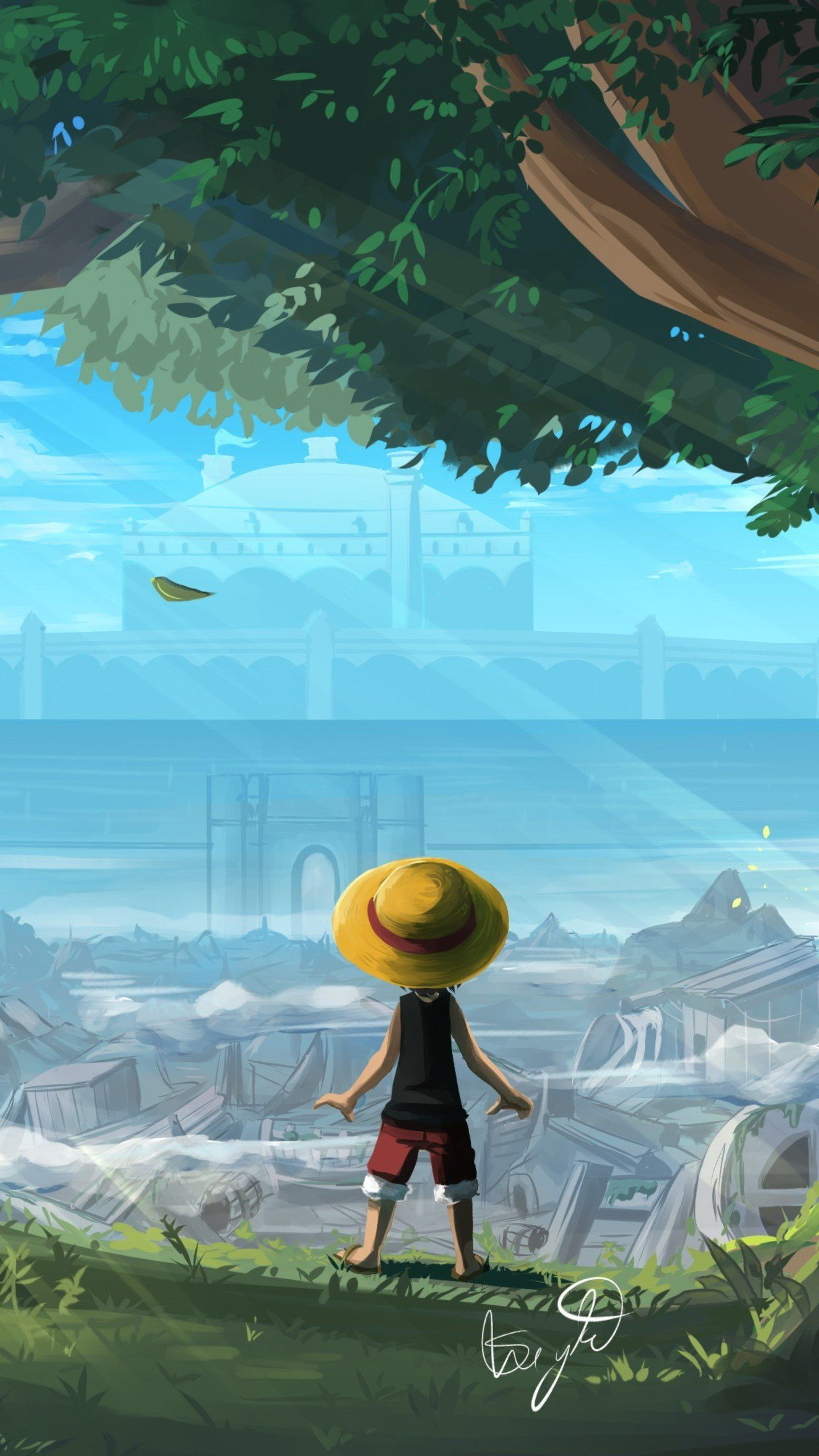 Reached At The Edge Of Forest 4k Hd Artist Wallpapers Photos And Pictures One Piece Wallpaper Iphone Anime Wallpaper Chibi Wallpaper