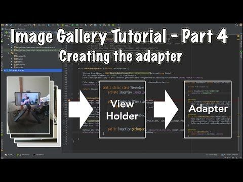 How To Create An Android Gallery App Using Recyclerview Part 4 Android Image Image Gallery App App Development