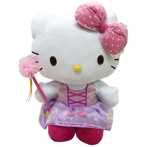 "Sanrio Hello Kitty Large Huggable 12"" Plush Doll Mascot: Ballet 