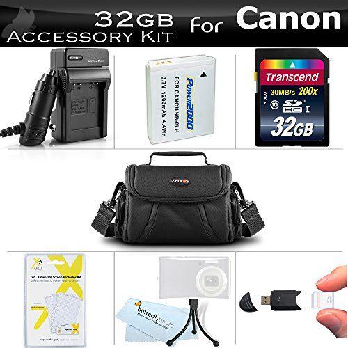32GB Accessories Bundle Kit For Canon PowerShot SX170 IS