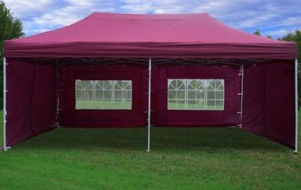 Maroon 10 X 20 Pop Up Canopy Party Tent Party Tent Tent Outdoor Tent