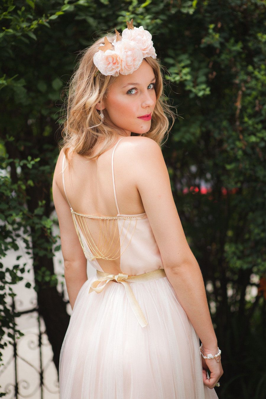 Too much cleavage wedding dress  Vintage French Romance PhotoShoot from Sonia Bourdon  French