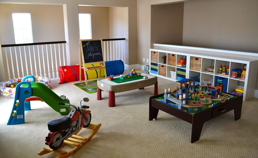 Tendencias para crear una sala de juegos para los niños | Salón ...