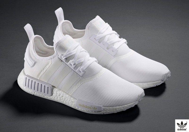 97d8552be8ffd Sonho de consumo para os pés  esse Adidas NMD branco.
