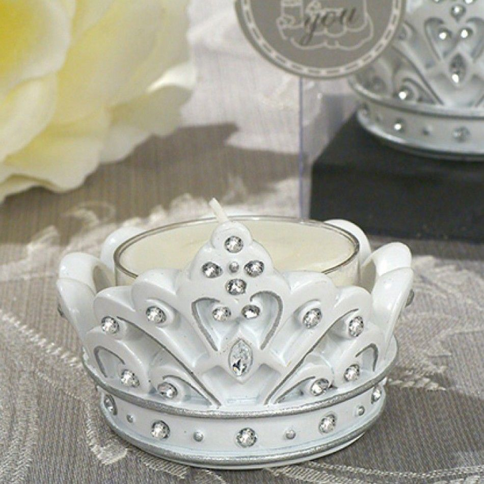 Queen For A Day Sparkling Tiara Candle Holder [227-1645 Sparkling ...