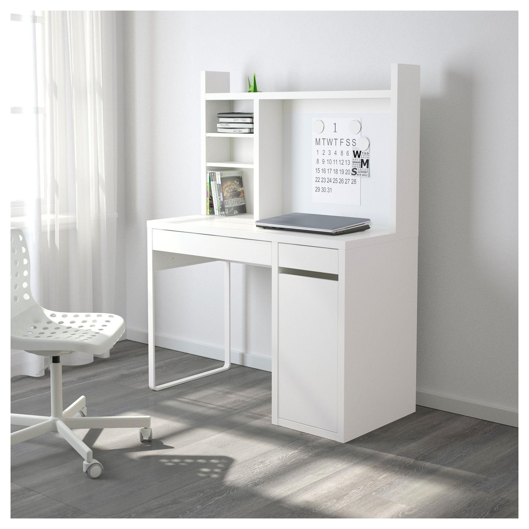 Monarquía ir de compras usuario  MICKE Escritorio - blanco 105x50 cm | Diseño de escritorio, Escritorio micke,  Escritorio ikea