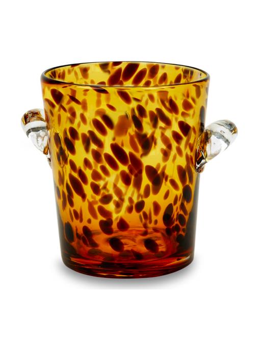 Tortoise Glass Ice Bucket
