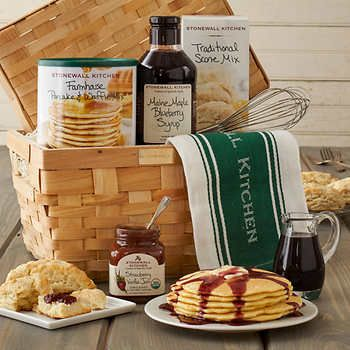 New England Breakfast Gift Basket by Stonewall Kitchen | Gift ...
