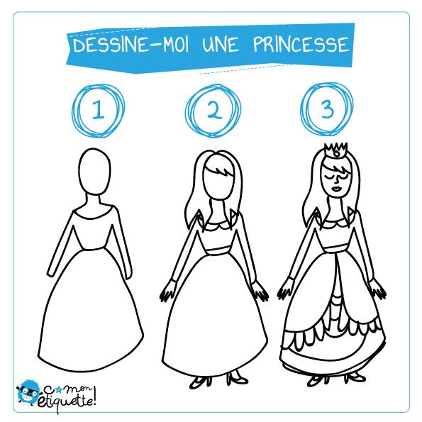 Dessin D Une Princesse Colorier Les Enfants Marnfozine Com