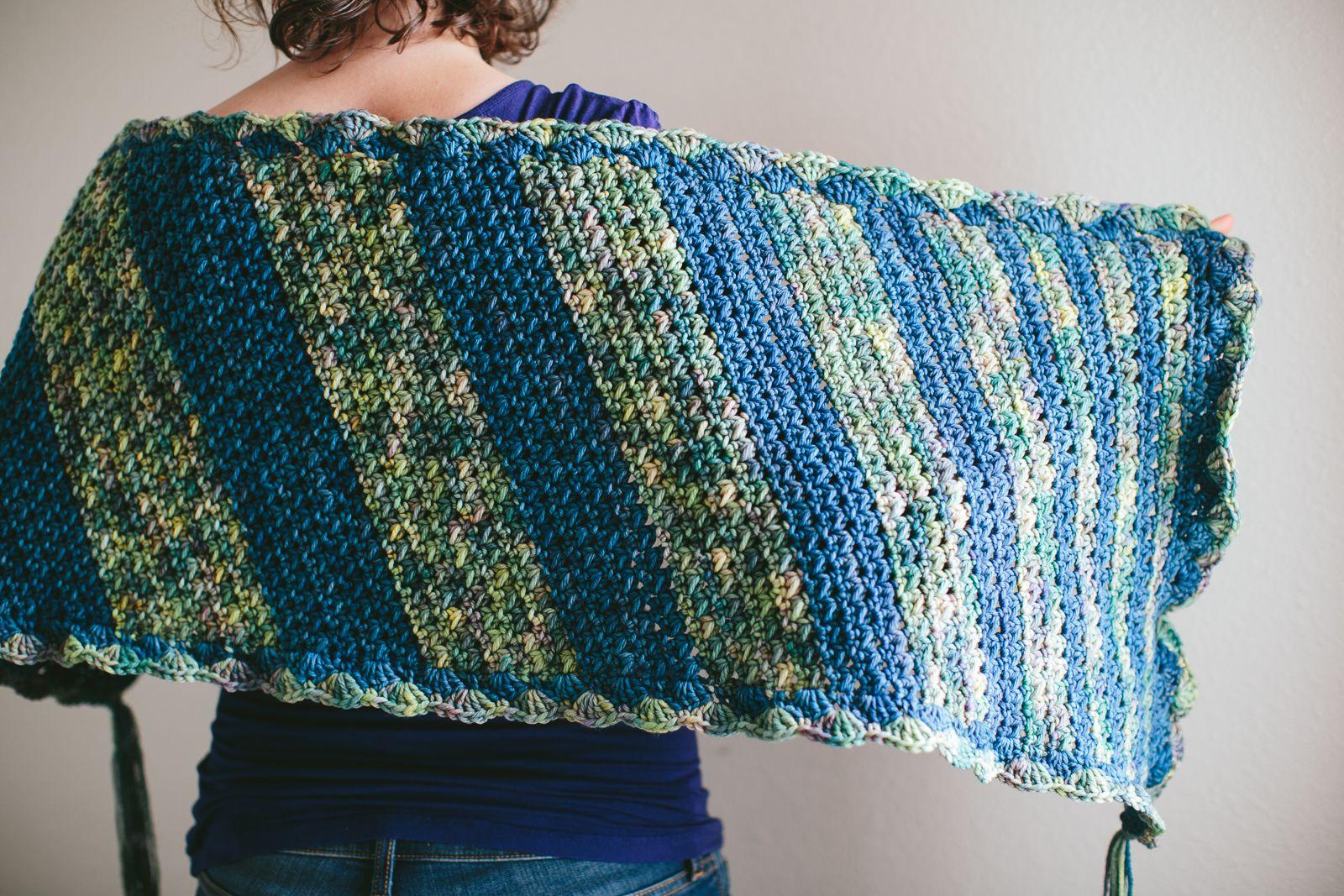 Free Pattern: The Power of a Prayer Shawl | Prayer shawl, Shawl and ...