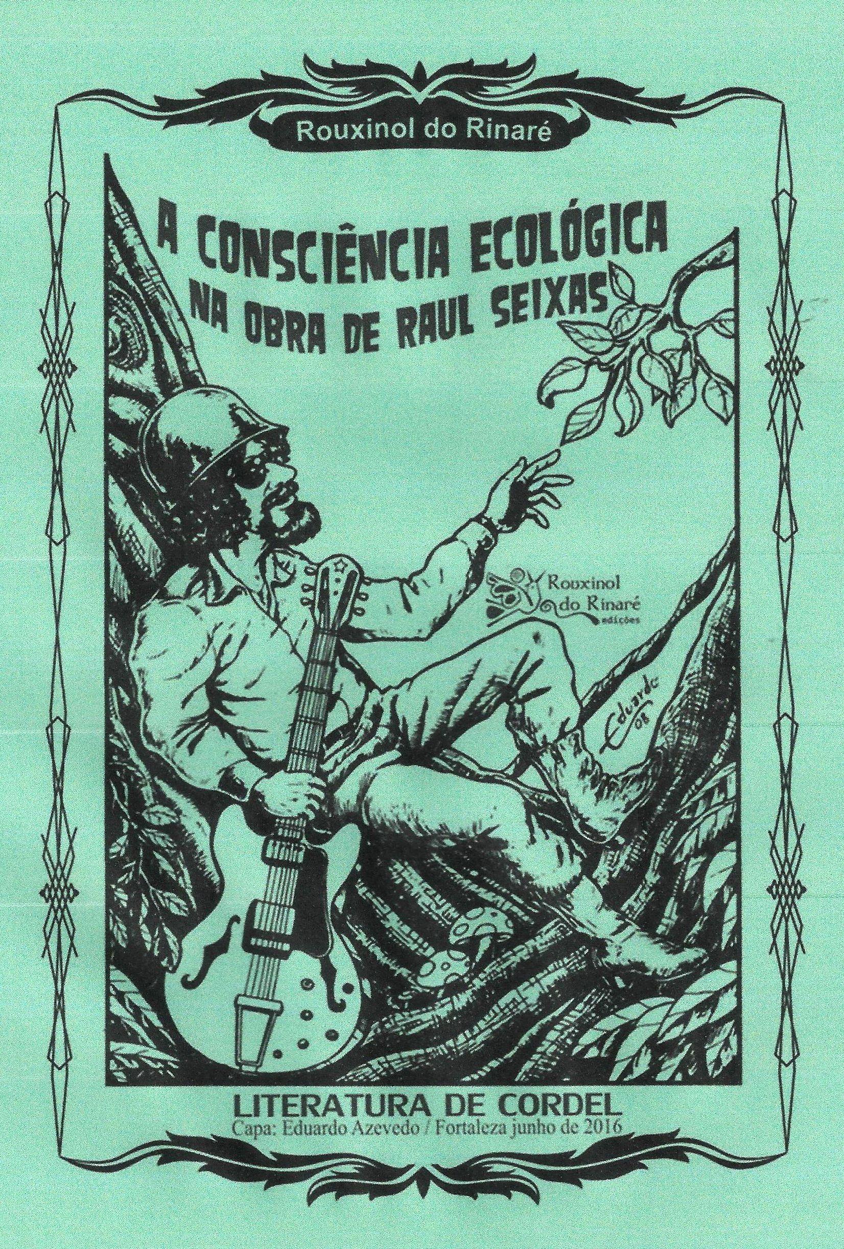 Cordel Comemorativo Dos 30 Anos Do Lp Mata Virgem De Raul Seixas