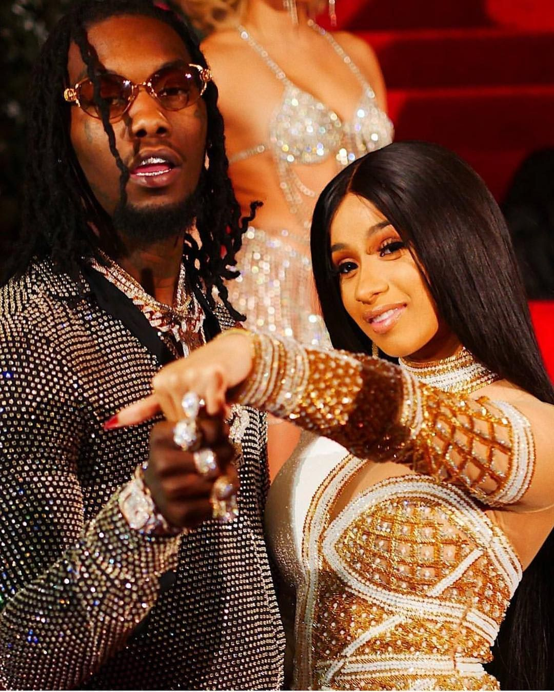 Couple Style Goal: Cardi B And Offset Dripping Major Mix