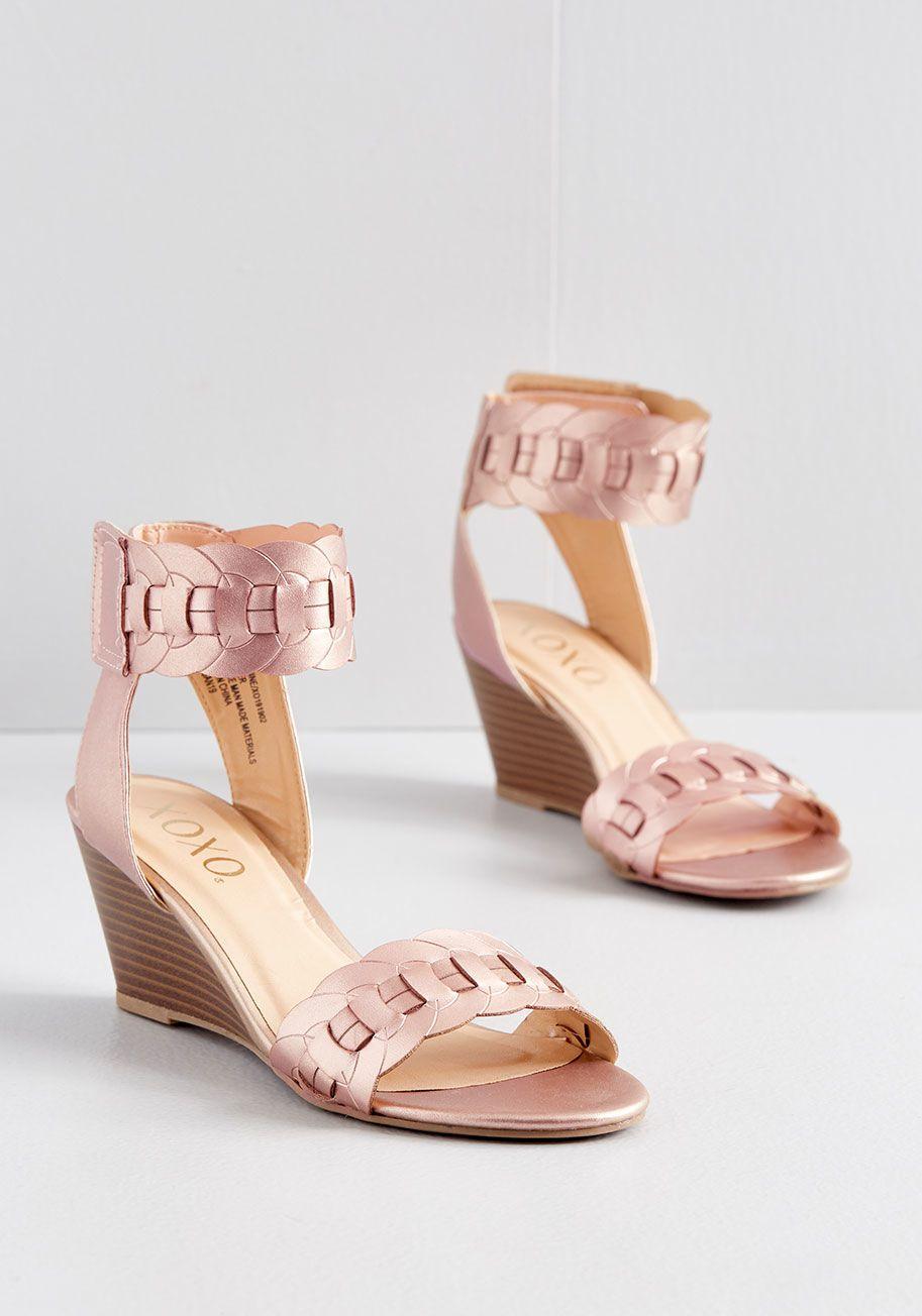 Park Art|My WordPress Blog_Rose Gold Dress Shoes Low Heel
