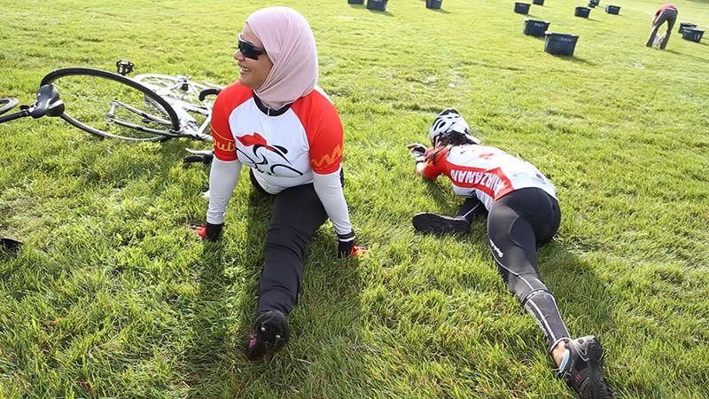Video Muslim Female Heroes Bicycle Across Iowa To Inspire Women