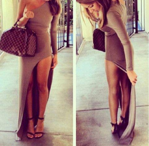 $37.00 | Sexy strapless long-sleeved dress BB1028BG