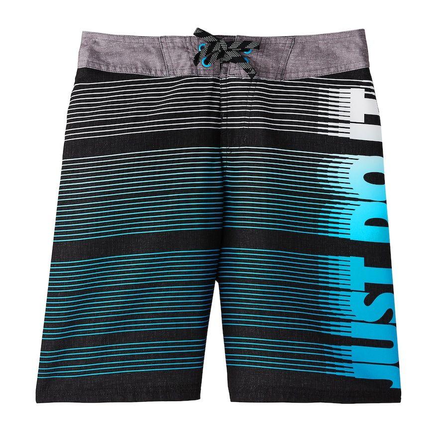 Small Nike Boys Swimsuit Blue//Black