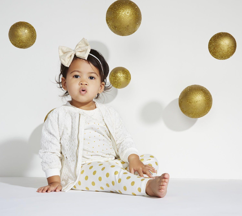 Pretty in polka dots Kardashian Kids ing March 15 to Babies R Us