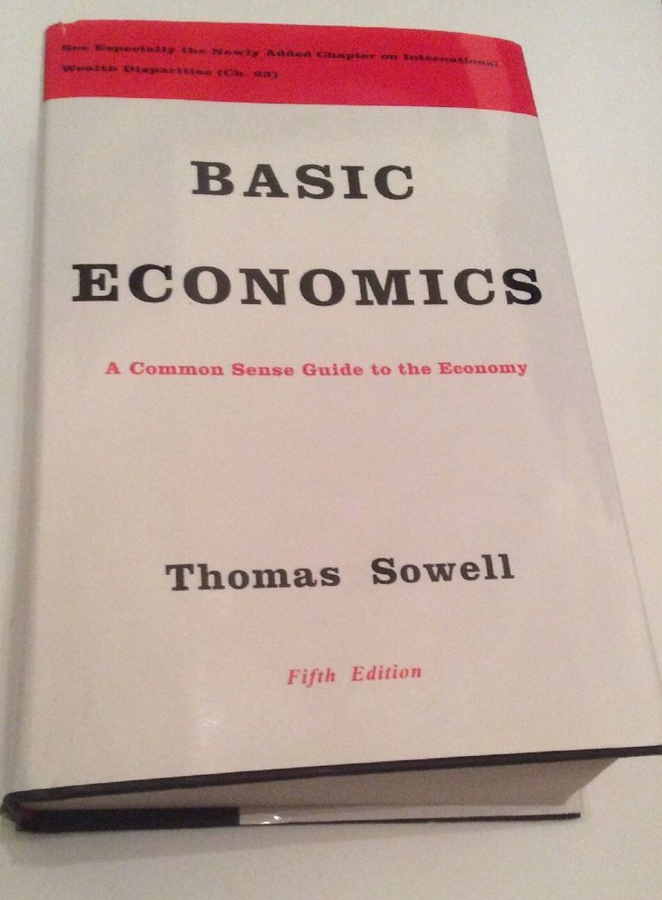basic economics thomas sowell 5th edition hardcover newly added
