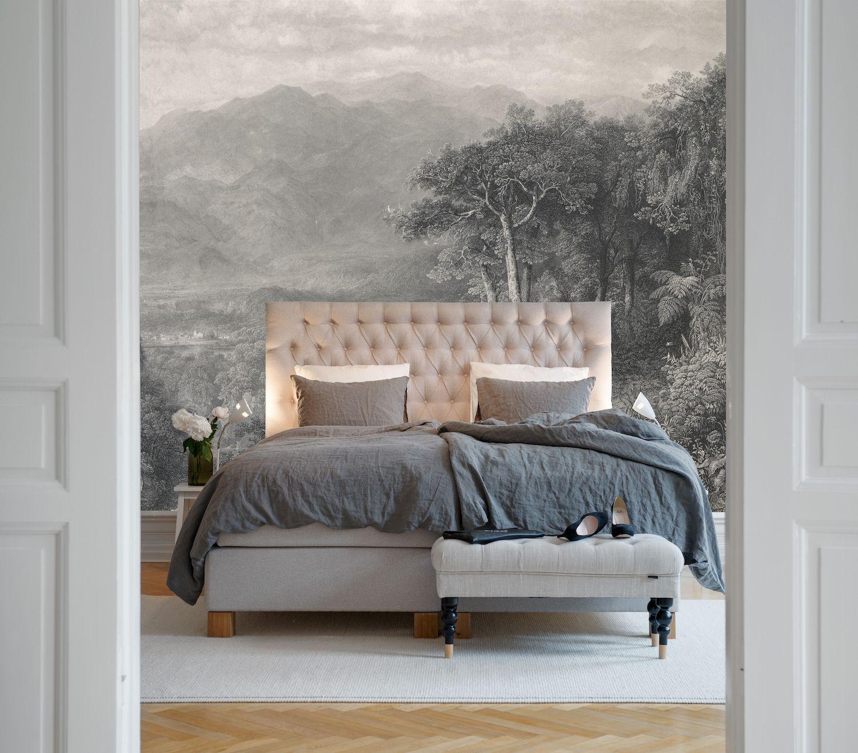 Papier Peint Chambre Mansardée le décor panoramique le coeur des andes de la collection
