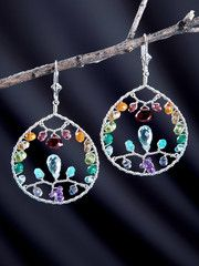 Paradise Garden Earrings by Harmony Scott