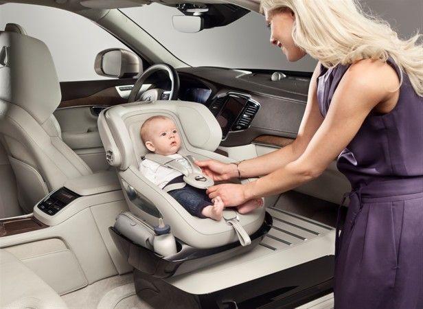 Volvo Child Seat Concept Puts Kids Safety Up Front Kids Seating Baby Car Seats Child Safety Seat