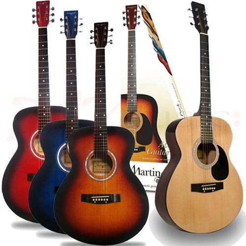 Martin Smith Acoustic Guitar Pack This Fantastic Package Is Ideal