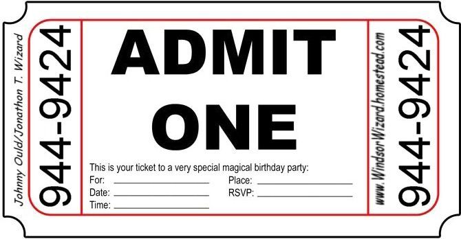 printibull moviey party tickits at free pass stag party - movie ticket invitation template free printable