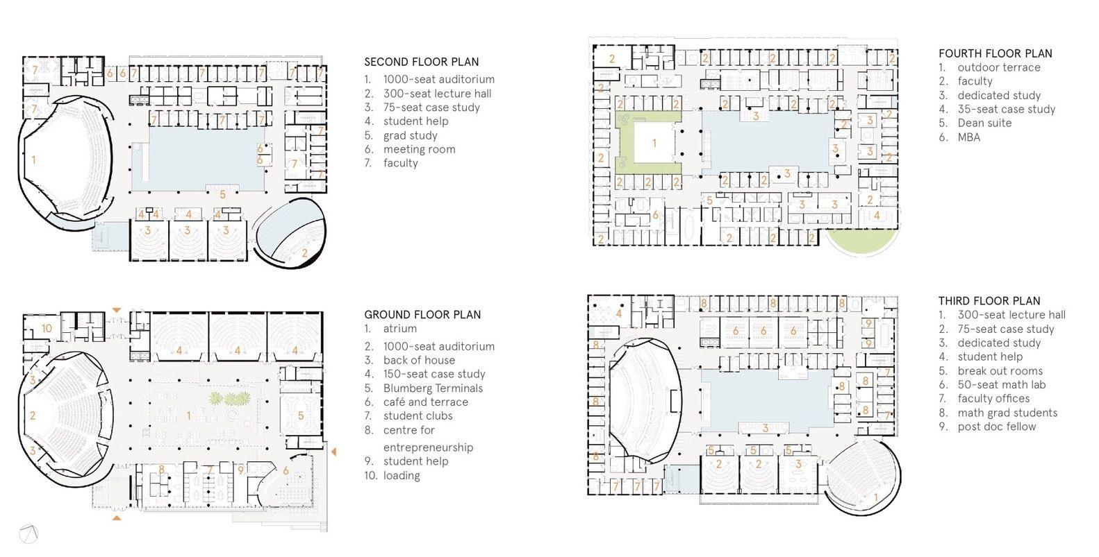 Gallery Of Lazaridis Hall Diamond Schmitt Architects 20 Architect Leed Ground Floor Plan