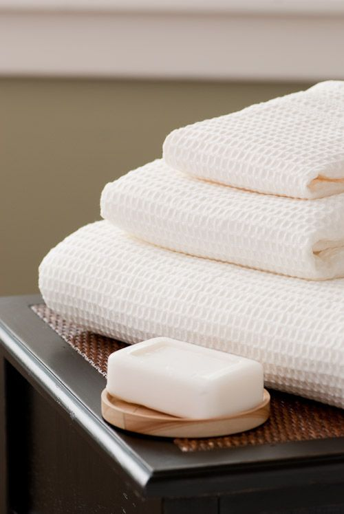 Classic Waffle Weave Towels 100% Cotton by Gilden Tree - Laughlin Designs Fine Luxury Linens