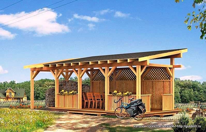 Comment construire un gazebo en bois et économiser de lu0027argent sur - construire une cabane de jardin en bois