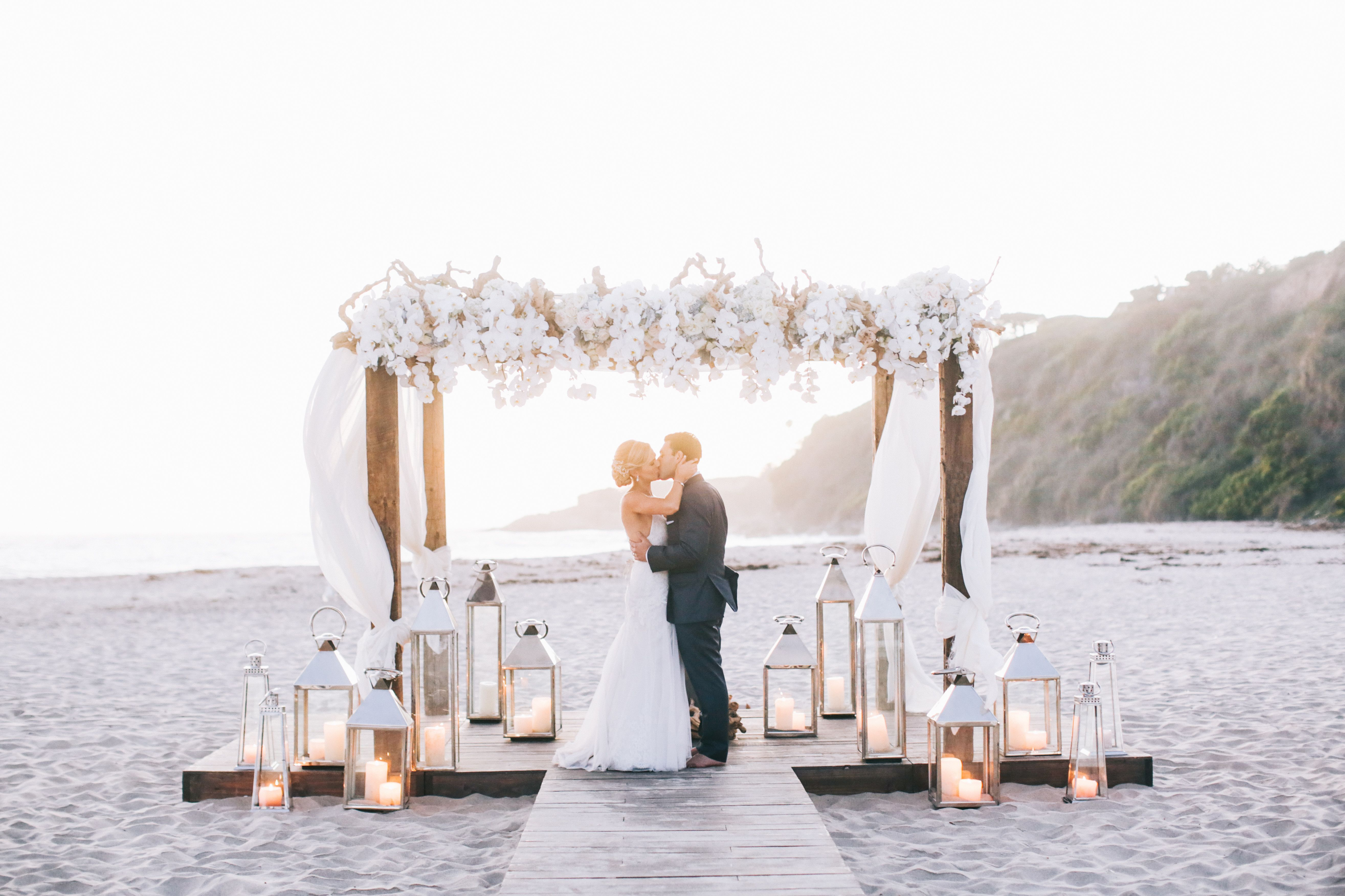 A Rustic Elegant Beach Wedding At Monarch Bay Club In Dana Point
