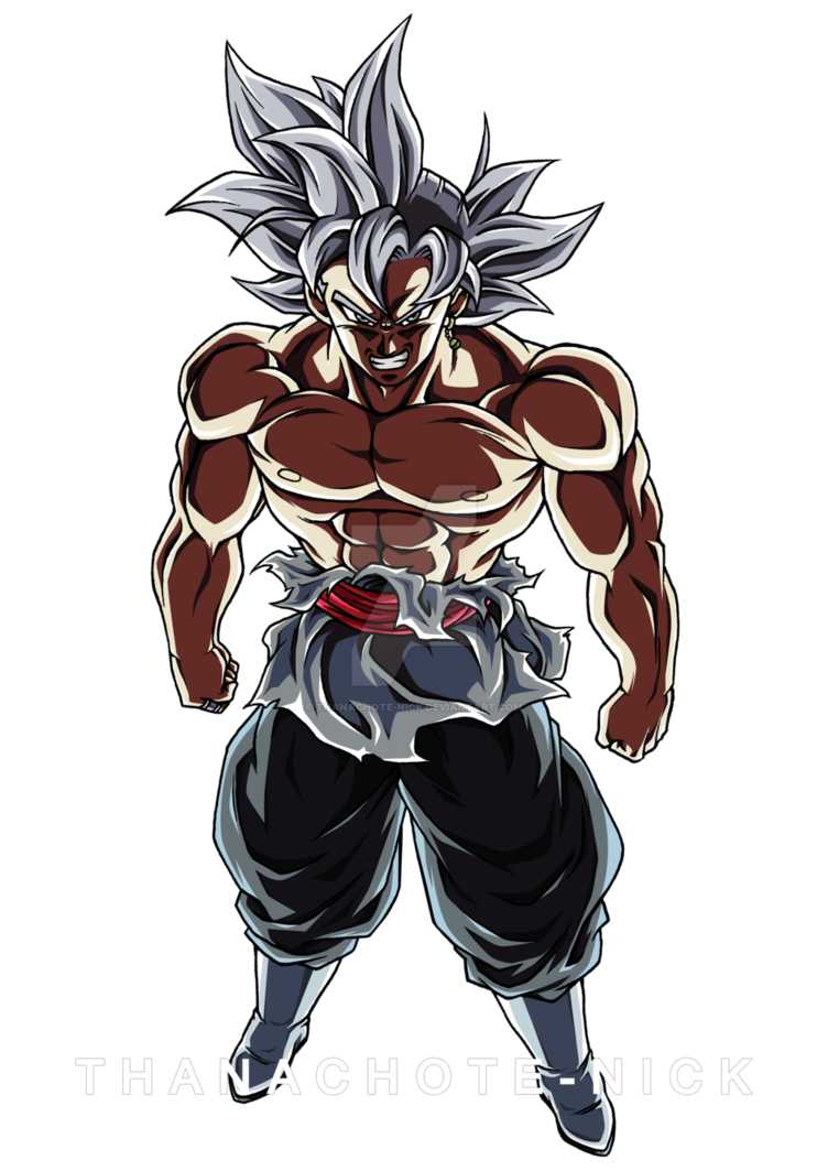 Goku Black Ultra Instinct Color 4 By Thanachote Nick Gaming