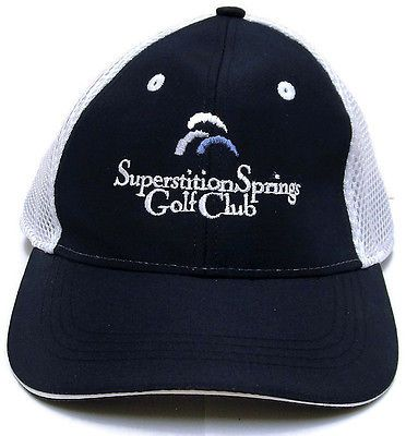 Superstition Springs Golf Club Greg Nash Course Cap AHEAD Hat Adjustable 55f5dfb9e610